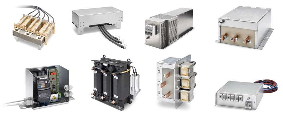 Beispielfotos der FUSS-EMV Produktpalette